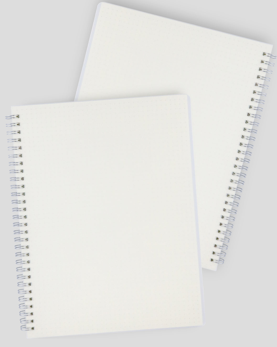 Miliko Transparent Hardcover B5 Wirebound Notebook Set(Dot Grid)