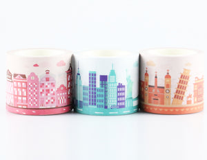 City Collection Decoration Washi Tape Set [FREE] - Miliko