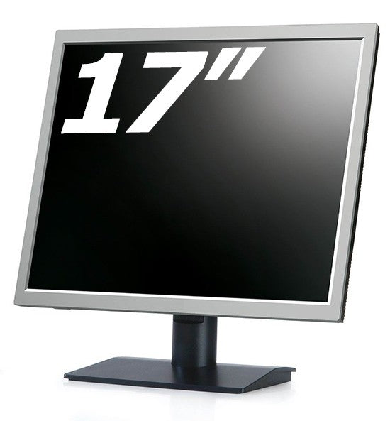 "Refurbished 17"" 4:3 Monitors - Various Brands and Models - 30 DAY TTE WARRANTY"