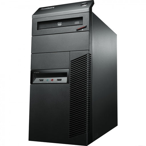 Lenovo ThinkCentre M93P Mid-Tower, Intel Core-i7 4770 2.4 to 3.8Ghz, (8Mb Cache, 4 Core 8 Thread), 8Gb DDR3 Ram, 512Gb SSD (OS)and 500Gb (Data Drive),Gb Ethernet, No Optical, Intel HD Graphics 4600, 6xUSB3.0, 2xUSB2.0, DP++, VGA, 9 Pin Serial, Windows ...