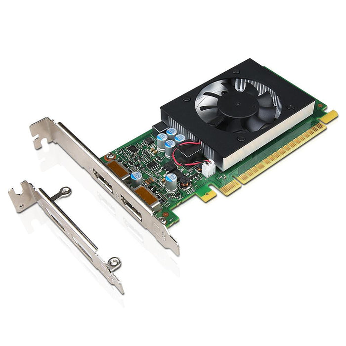 Lenovo GeForce GT730 2GB Dual DP HP and LP Graphics Card (4X60M97031)