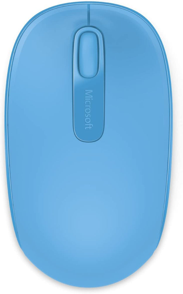 Microsoft Wireless Mobile Mouse 1850 -  Blue (Retail Box) (U7Z-00012) 2.4GHz Wireless , Plug & Go , Nano Receiver -- 30 Day TTE.CA Warranty