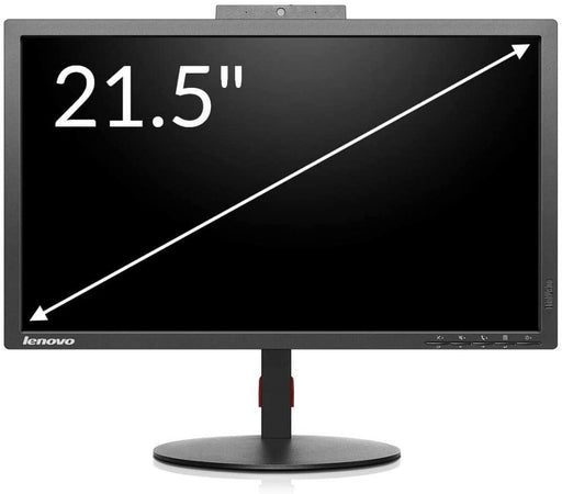Lenovo ThinkVision T2224z 21.5 inches LED LCD Monitor with Webcam and Mic