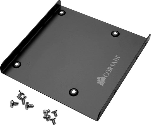 Corsair 2.5 to 3.5 adaptor bracket with screws