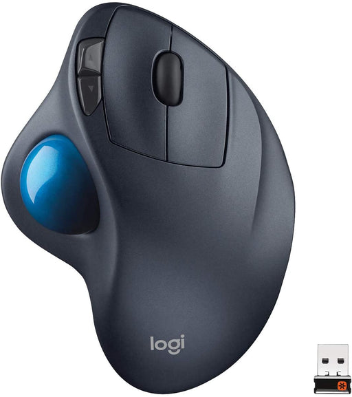 Logitech Wireless Trackball M570 Optical Mouse -- 30 Day TTE.CA Warranty --  Logitech Warranty