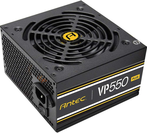 Antec VP550Watt Power Supply, 120mm Fan, Thermal Manager, CuruitShield, 80 Plus, 2x8 (6+2) pin -- 3 Year Antec Warranty