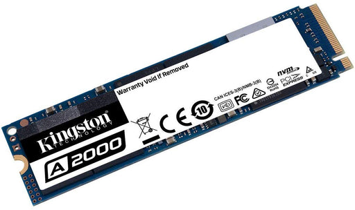 Kingston 250G A2000 M.2 2280 NVMe PCIe Gen 3.0 x4