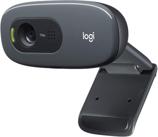Logitech C270 USB 2.0 HD 720p Webcam, 30fps,  -- 2 Year Logitech Warranty