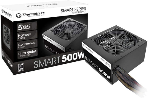 Thermaltake Smart 500W ATX 12V V2.3/EPS 12V 80 Plus Active PFC Power Supply PS-SPD-0500NPCWUS-W