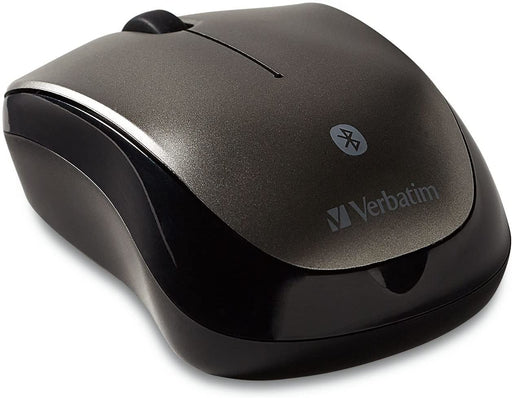 Verbatim BlueTooth Wireless Multi-Trac  LED, Optical Mouse - Black Colour -- 1 Year Verbatim Warranty