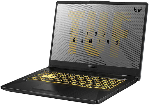 ASUS TUF Series FX706II Fortress Gray, AMD Ryzen 5 4600H 3GHz, 8GB DDR4, 512GB PCIe SSD, 17.3FHD (1920 x 1080), NVIDIA GeForce GTX 1650 Ti 4GB GDDR6, 720P HD WebCam, Wi-Fi 5 (802.11ac) ,BT 5.0 (Dual band)2x2, Backlit Chiclet Keyboard RGB,48WHrs, 3S1P, ...