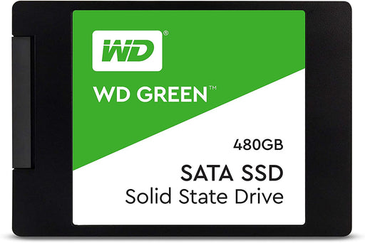 480GB WD Green SSD, SATA3 6Gb/s, 7mm --  3 Years WD Warranty