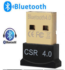 BlueTooth 4.0 USB dongle/adaptor -- 30 Day TTE.CA Warranty