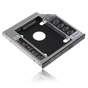 UniLink (TM) SATA 2nd HDD HD Hard Drive Caddy Case for 12.7mm Universal Laptop CD / DVD-ROM Optical Bay