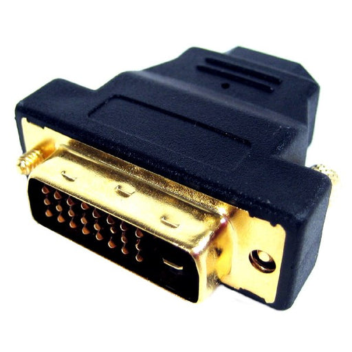 TechCraft Single Link DVI-D Male to HDMI Female Adapter
