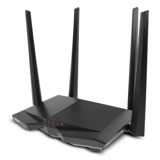 Nexxt Nebula 1200-AC Dual Band Router 802.11 AC 1200Mbps 4x10/100Mbps Ports, IPTV Ready, Parental Controls, Smart WiFi Scheduling on/off, WPS -- Nexxt Warranty