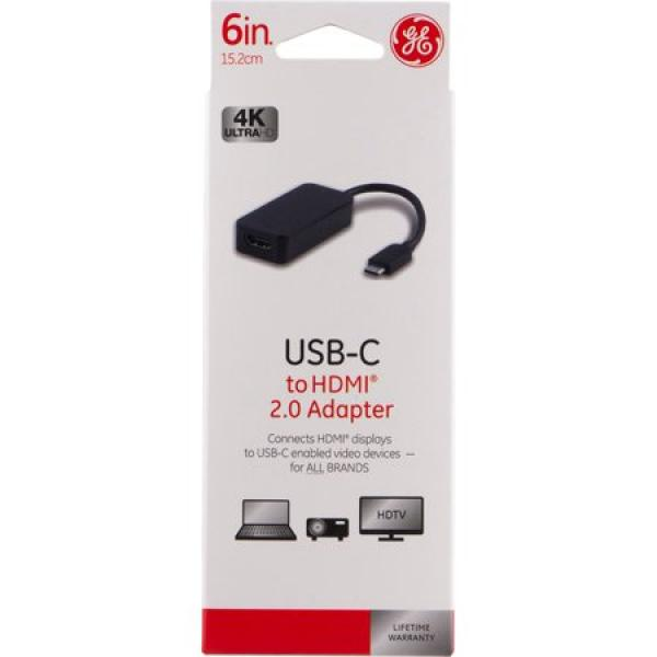 GE USB 3.1 Type C to HDMI Adapter