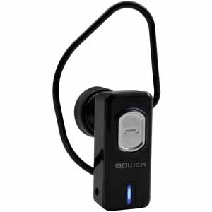 Bower Bluetooth Earpiece Mono with Mic (Black Colour)
