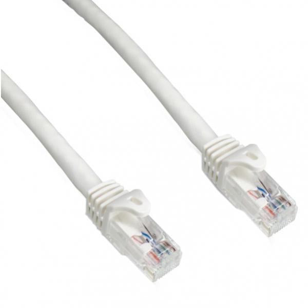 25' CAT6a (10 GIG) UTP Network Cable - White -