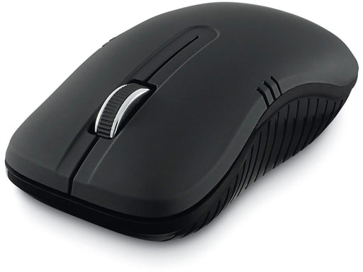 Verbatim Commuter Series Wireless Notebook Optical Mouse 2.4Ghz, 1200dpi - Matte Black Colour -- 1 Year Verbatim Warranty
