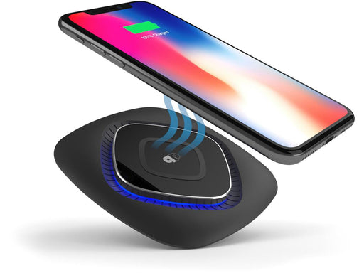 Press Play ChargeWAVE Base - Universal Qi Fast Wireless Charging Pad 7.5W/10W