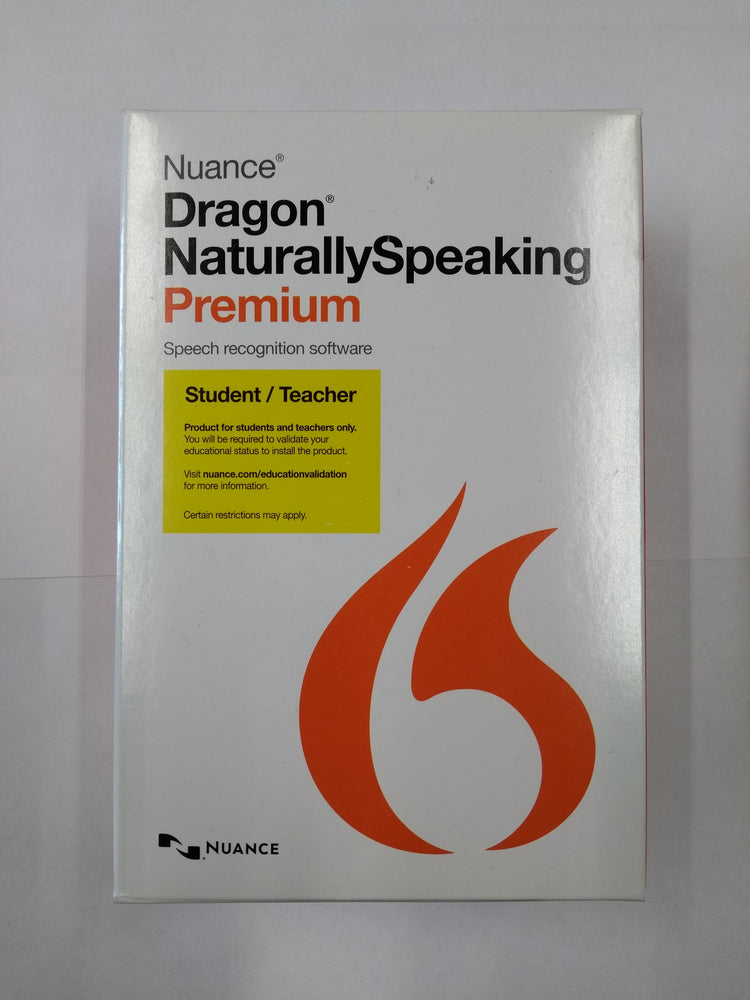 Dragon Naturally Speaking 13 Premium Student/Teacher Edition