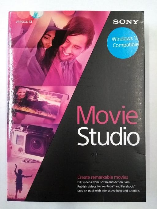 Sony Movie Studio 13