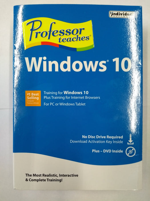 Professor Teaches Windows 10 (English/French)
