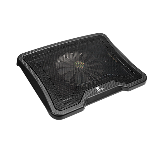 XTech USB powered laptop cooling pad up to 14in with Blue LED and 2 USB ports -- 30 Day TTE.CA Warranty -- 1 Year XTech Warranty