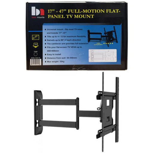 "17""-47"" Full Motion LCD/Plasma TV Wall Mount Bracket"