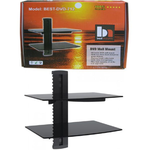 DVD 2-Tier Wall Mount Bracket