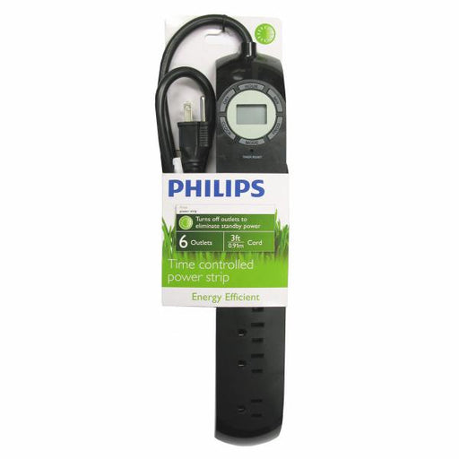 Philips 6 Outlet Power Strip