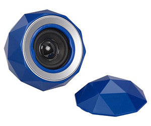 Lyrix PowerBall Bluetooth 3.0, 3 Watt  speaker BLUE -- 30 Day TTE.CA Warranty