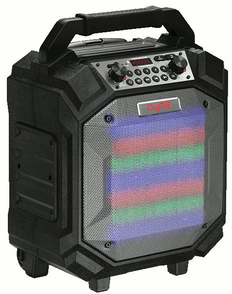 Nyne Performer Bluetooth 70W Party Speaker Black w/LED