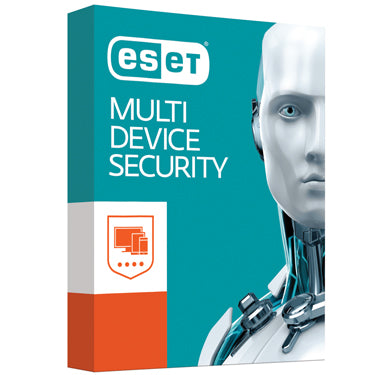 Eset Multi-Device Security 10 Devices  - 1 Year License ( ANDROID, Eset Software, OS10.6+, PC/MAC, VISTA, WIN10, WIN7, WIN8, WINXP)