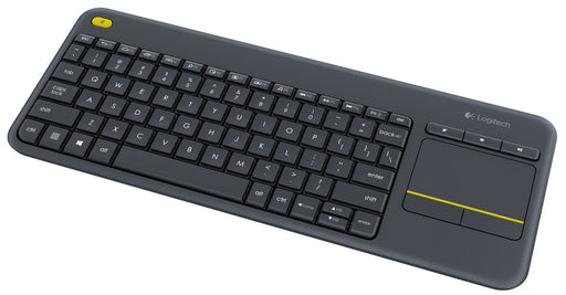 Logitech K400 Plus Wireless Touch Keyboard -- 1 Year Logitech Warranty