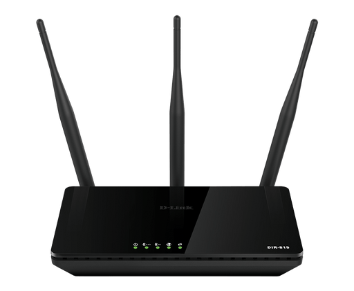 D-Link DIR-819 Wireless AC750 Dual Band Router , IEEE 802.11 u/a/b/g/n/ac -- 1 Year D-Link Warranty