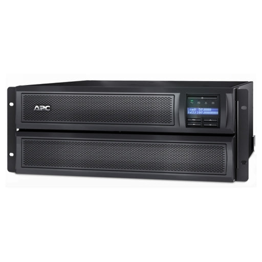 Smart-UPS X 3000VA Short Depth Tower/Rack Convertible 4U LCD 200-240V, Output Connections:(8 x IEC 320 C13),(2 x IEC 320 C19) Input Connection: (1 x IEC 320 C20) -- APC Warranty 3 years repair or replace (excluding battery) and 2 year for battery