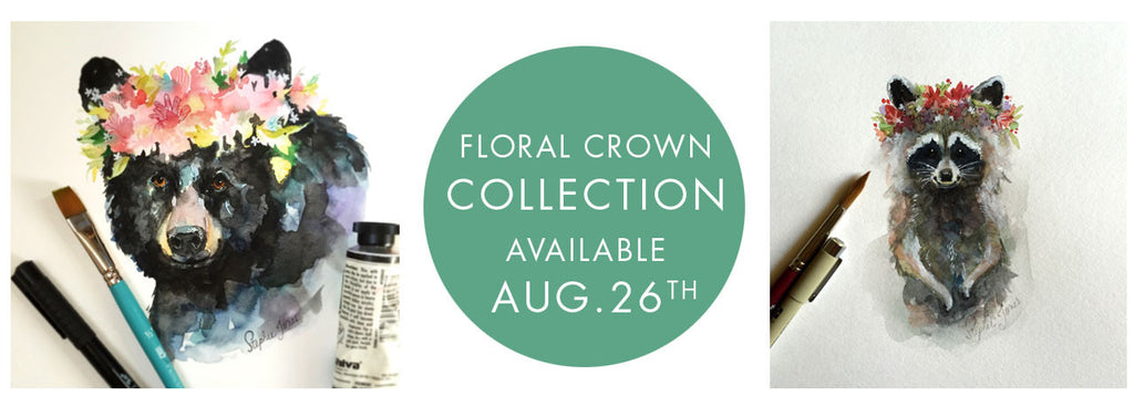 Floral Crown Collection Release: 8/26/16 10 a.m. EST
