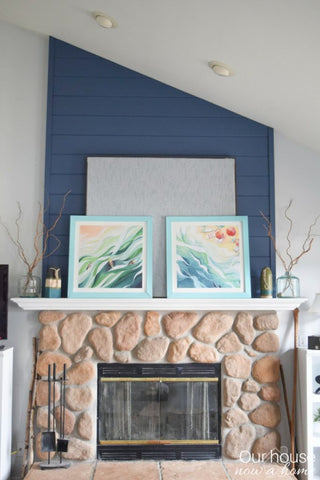 Beach Daze Prints Featured on Our House, Now a Home