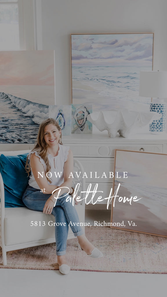 New Work Exclusively at Palette Home in Richmond, Va