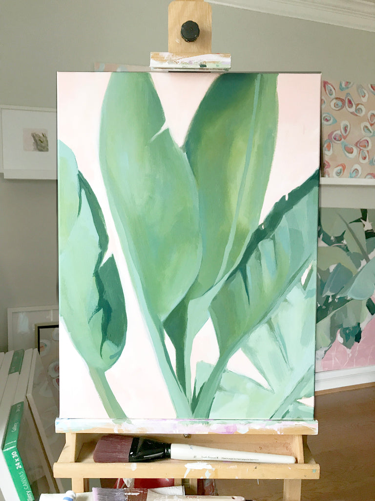I've Been Painting in a Jungle (And I May Never Leave...)