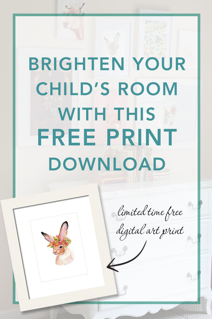 Brighten Your Child's Room: Free Digital Print Download