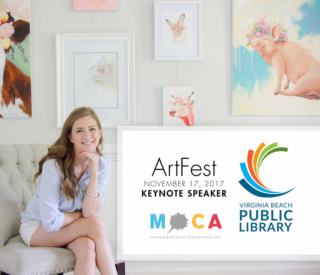 Keynote Speaker at VBPL & MOCA's ArtFest: Nov. 17, 2017