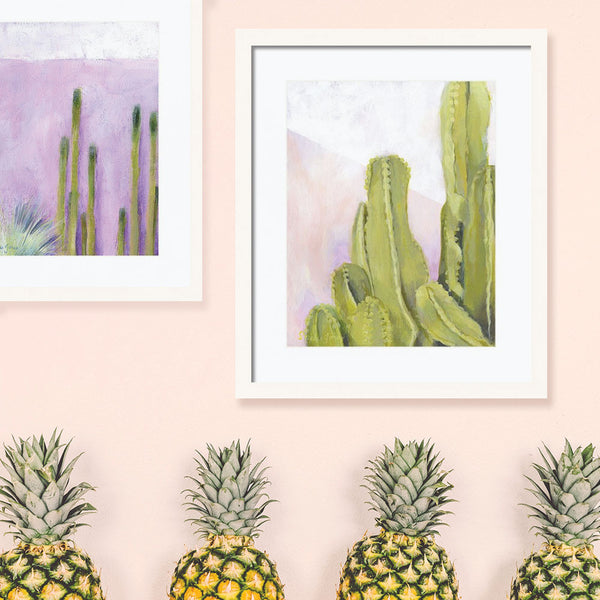 Cactus Love: Original Paintings