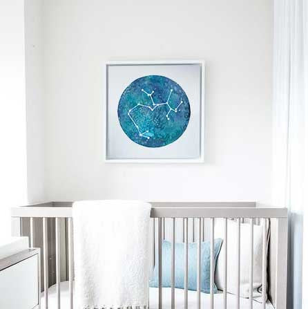 Shine On: Constellation Prints