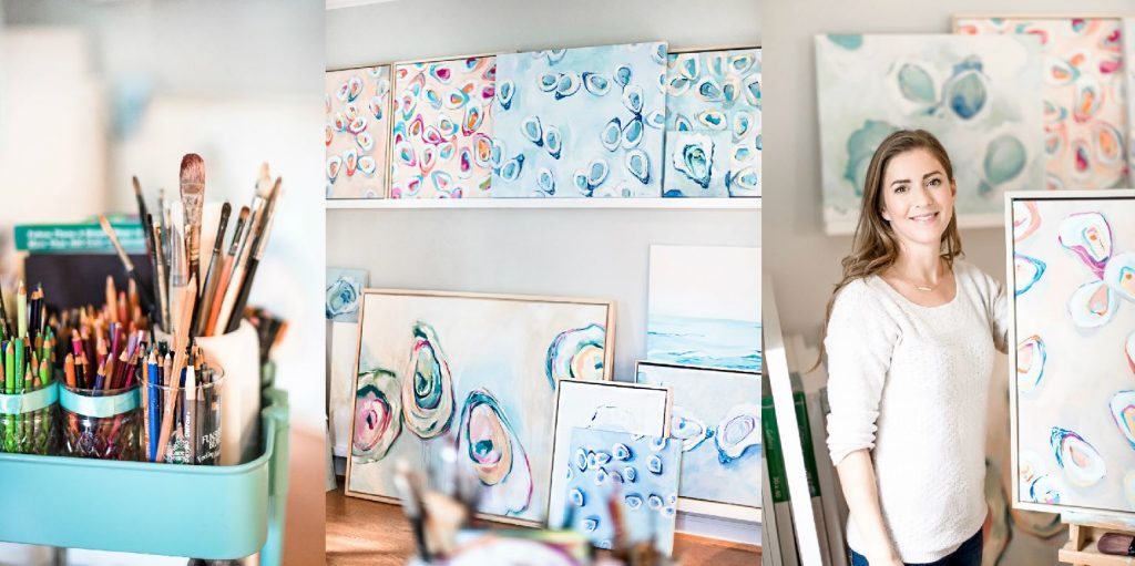 Reed & Associates Marketing interviews Virginia Beach Artist Stephie Jones