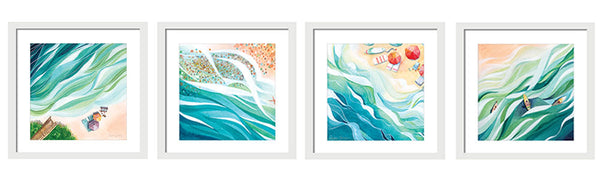 Beach Daze Waves Collection by Stephie Jones