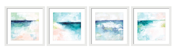 Beach Daze Abstract Collection by Stephie Jones