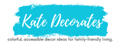 Artist Stephie Jones beach painting featured on Kate Decorates